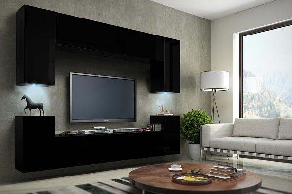 I mobili per soggiorno non sono solo uno spazio di archiviazione