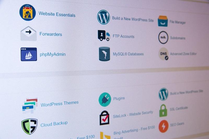 Pannello di controllo web hosting cPanel